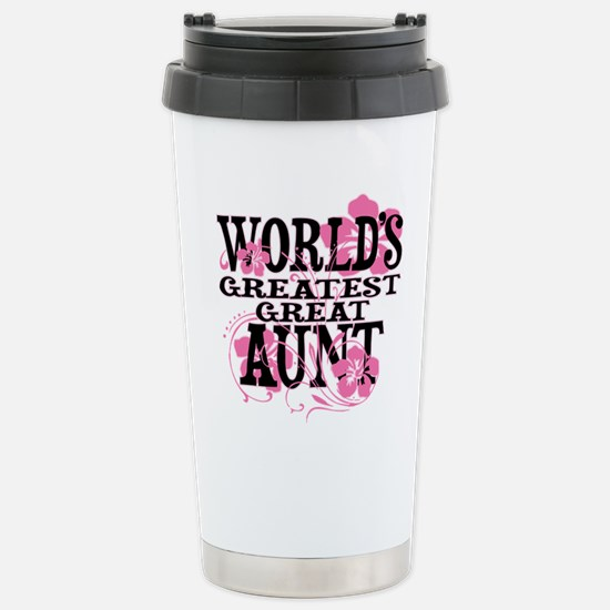 Great Aunt Stainless Steel Travel Mug