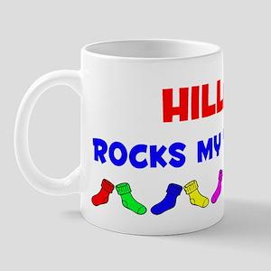 Hillary Rocks Socks (A) Mug