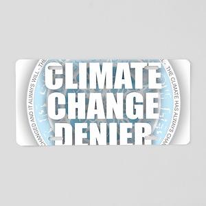 Climate Aluminum License Plate