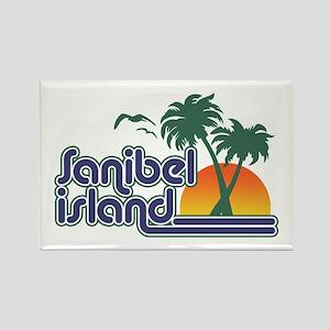 Sanibel Island Rectangle Magnet