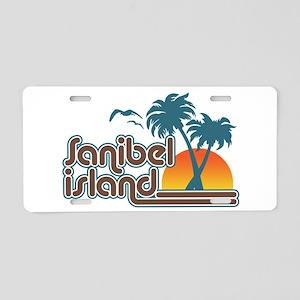 Sanibel Island Aluminum License Plate