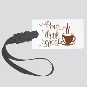 POUR, DRINK, REPEAT Luggage Tag