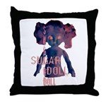 SUGARDOLL BY JVB Throw Pillow
