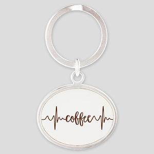 COFFEE HEARTBEAT Keychains