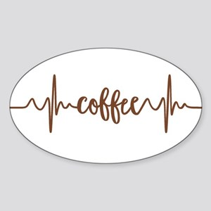 COFFEE HEARTBEAT Sticker
