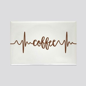 COFFEE HEARTBEAT Magnets