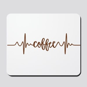 COFFEE HEARTBEAT Mousepad