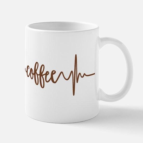 COFFEE HEARTBEAT Mugs