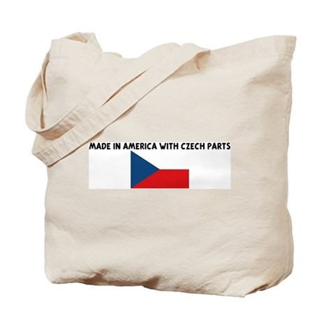MADE IN AMERICA WITH CZECH PA Tote Bag
