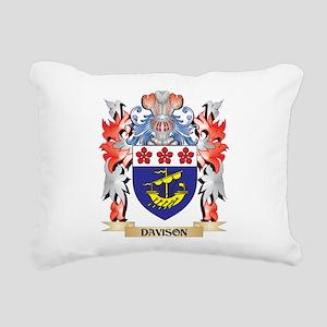 Davison Coat of Arms - F Rectangular Canvas Pillow