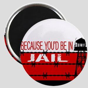 "Donald Trump: ""Because You'd Be In Jail"" De Magnet"