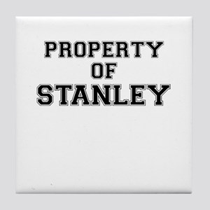 Property of STANLEY Tile Coaster