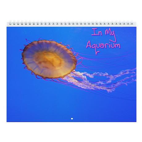 Helaine's Blue Fish Wall Calendar