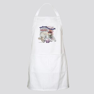 Yankee Goldendoodle BBQ Apron