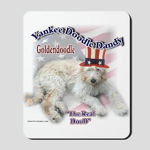 Yankee Goldendoodle Mousepad