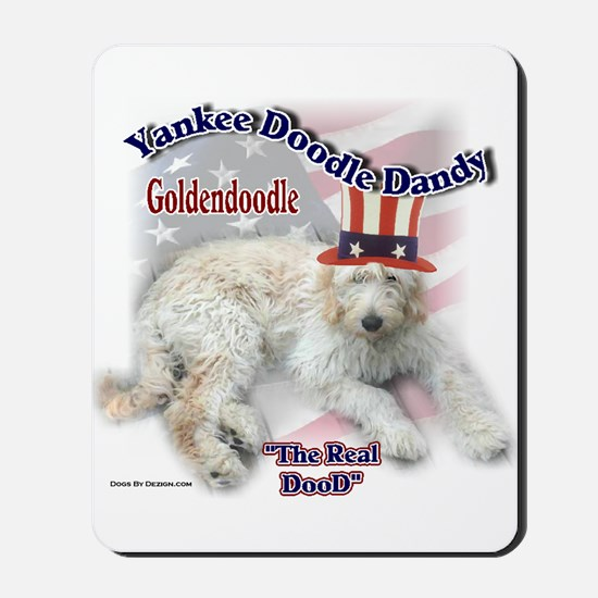 Yankee Goldendoodle Mousepad