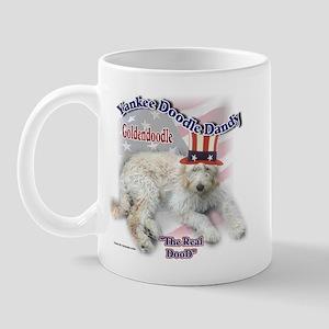 Yankee Goldendoodle Mug
