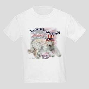 Yankee Goldendoodle Kids Light T-Shirt
