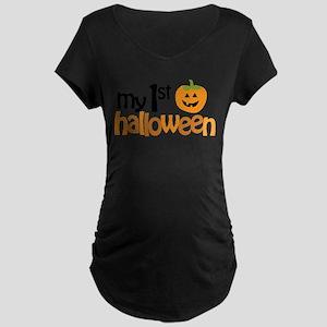 My 1st Halloween Maternity T-Shirt