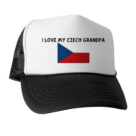 I LOVE MY CZECH GRANDPA Trucker Hat