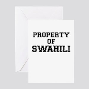 Swahili greeting cards cafepress property of swahili greeting cards m4hsunfo Choice Image