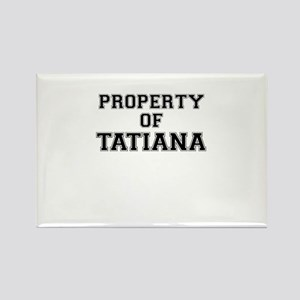 Property of TATIANA Magnets
