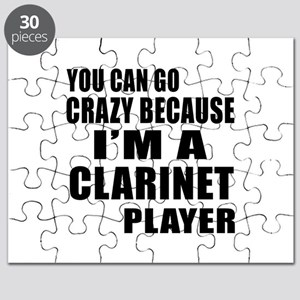 You Can Go Crazy Because I Am clarinet Play Puzzle