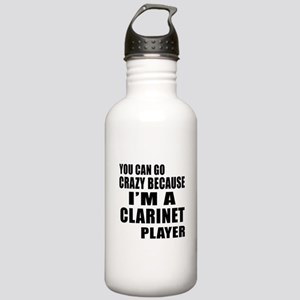 You Can Go Crazy Becau Stainless Water Bottle 1.0L