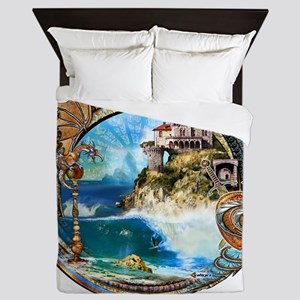 spanish cove Queen Duvet