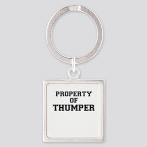 Property of THUMPER Keychains