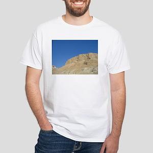 masada White T-Shirt