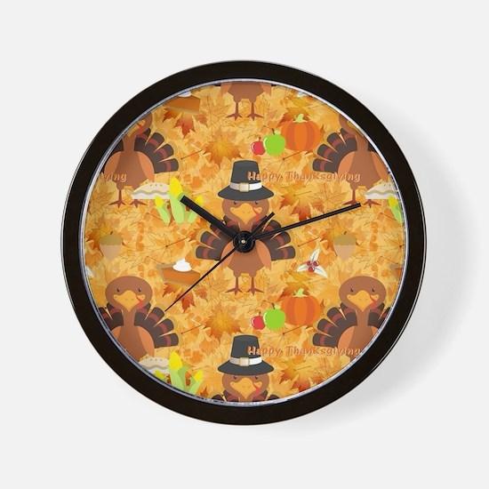Funny Turkey Wall Clock