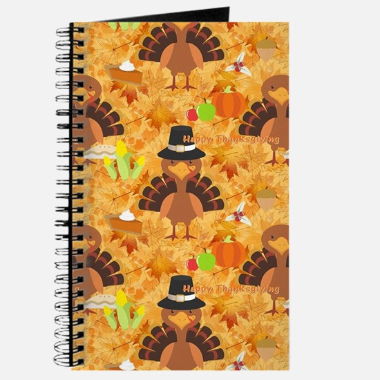 happy thanksgiving turkey Journal