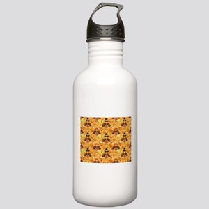 happy thanksgiving tur Stainless Water Bottle 1.0L