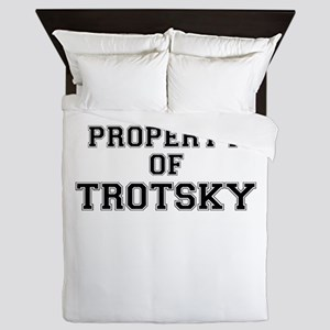 Property of TROTSKY Queen Duvet