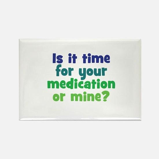 Your Meds or Mine? Magnets
