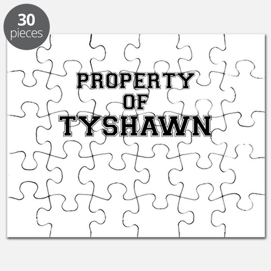 Property of TYSHAWN Puzzle