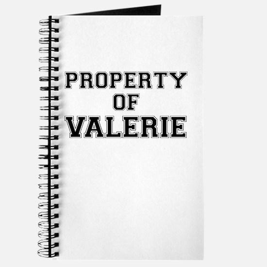 Property of VALERIE Journal
