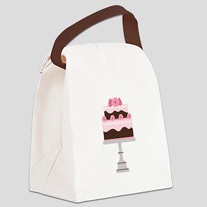 Wedding Cake Canvas Lunch Bag