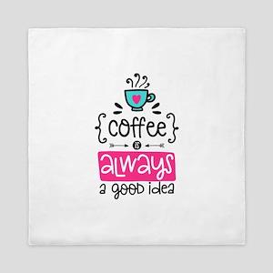 Coffee Is Amazing! Queen Duvet