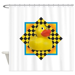 Rubber Duck Shower Curtains