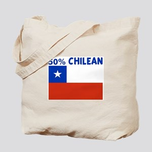 50 PERCENT CHILEAN Tote Bag