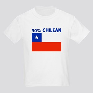 50 PERCENT CHILEAN Kids Light T-Shirt
