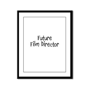Future Film Director Framed Panel Print