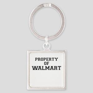 Property of WALMART Keychains