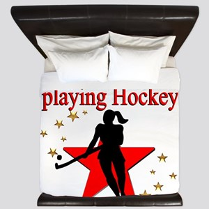 HOCKEY GIRL King Duvet
