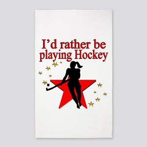HOCKEY GIRL Area Rug