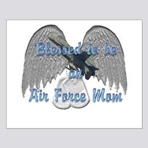 Blessed Air Force Mom Small Poster