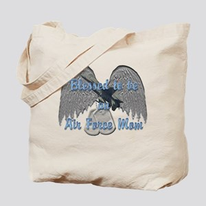 Blessed Air Force Mom Tote Bag