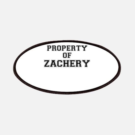 Property of ZACHERY Patch